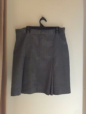 Yarra Valley Grammar School Grey Winter Skirt Size 14