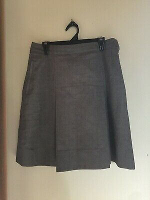 Yarra Valley Grammar School Grey Winter Skirt Size 12