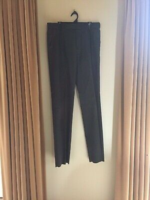 Yarra Valley Grammar School Grey Trousers Size 19 Youth