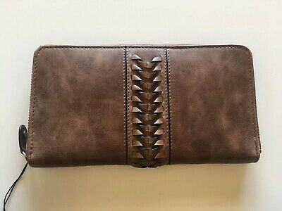 Brown Leather Colorado Wallet