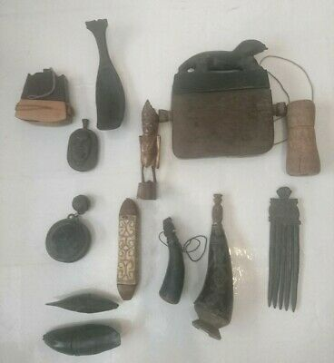A quantity of Pre 1970's Timor Tribal objects