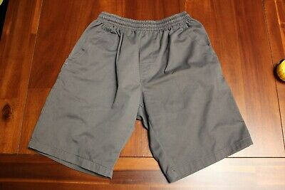 Grey School Shorts Boys Size 16