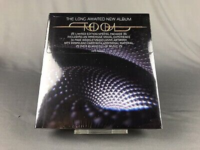 "NEW SEALED Tool Fear Inoculum CD Deluxe Limited Special Edition 4"" HD SCREEN"