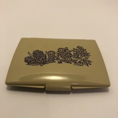 Vintage Coty Sweet Earth Herb Fragrance Set Solid Perfume Compact FREE SHIPPING!