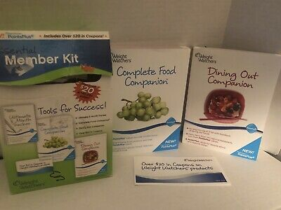 Weight Watchers Points Plus Partial Essential Member Kit