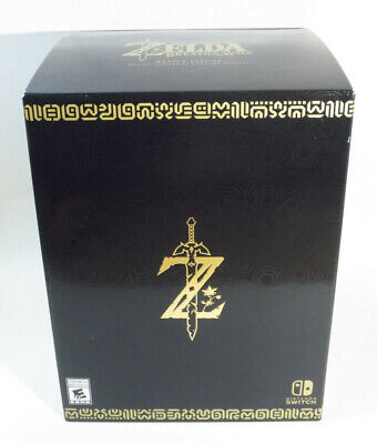 The Legend of Zelda: Breath of the Wild Master Edition (for Nintendo Switch) NEW