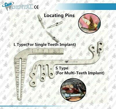 Dental Implant Surgical Parallel Drilling Guide Locator Depth Pin Gauge CE NEW