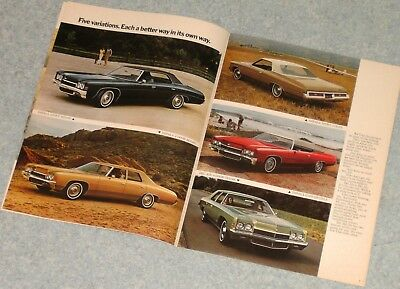 Chevrolet 72 Document Publicitaire D'origine