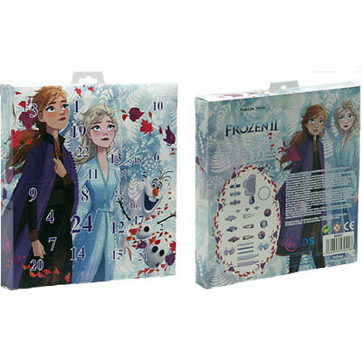 Official Frozen 2 Advent Calendar for hair and Jewellery 2019 Elsa and Anna II