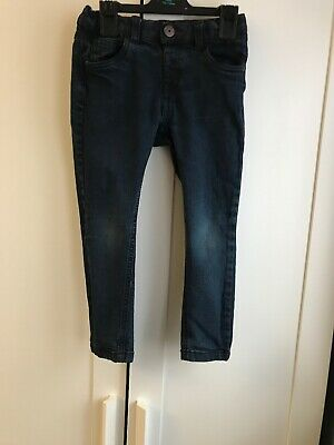 Boys Blue Skinny Jeans Size 3-4 Years
