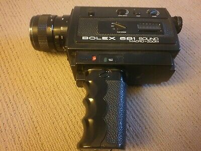 Vintage Bolex 581 sound macro-zoom Super 8 Camera
