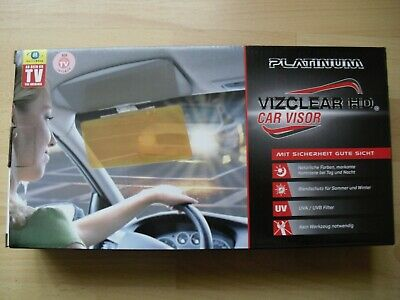 Platinum Vizclear HD Car Visor