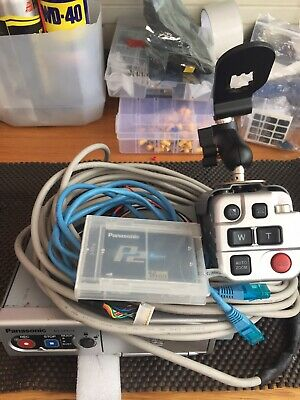Panasonic Arbitrator DVR Unit Front / Rear Camera And 16gb P2 Card