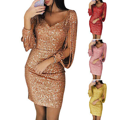 Women Dress Ladies Evening Dress Sexy Clubwear Mini Nightclub Cocktail