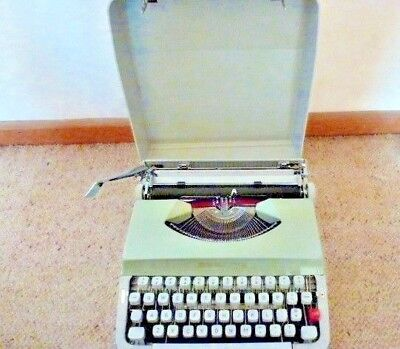 Vintage Type Writer With Case