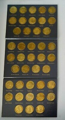 A Coin History Of The U.s. Presidents, 41 (Brass Coins) Free Shipping