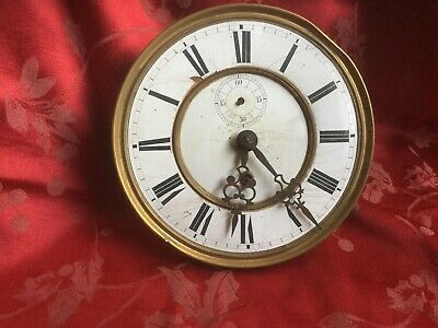 Quality Single  Weight  Vienna Wall Clock Movement With Dial Hands