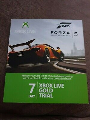 Xbox Live Gold 7 Day Trial Code