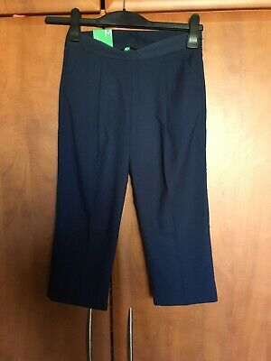 New With Tags Designer Benetton Navy Trouser, Age 7 Years