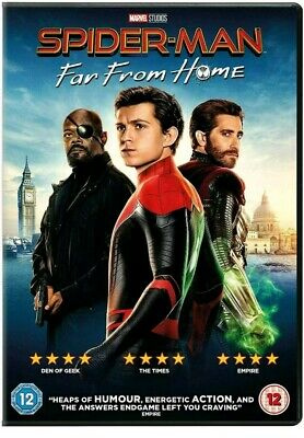 Spider-Man : Far From Home DVD 100% AUTHENTIC NEW/SEALED (FREE POSTAGE)