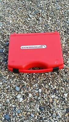 Rothenberger Roleak Plus Refigerant Gas leak detector sniffing with visual alarm