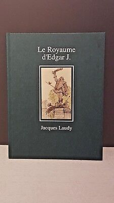 Jacobs - Le Royaume D'edgar J. - Jacques Laudy - Eo - Neuf