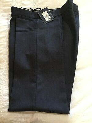 Mens formal trousers.  Dark blue, brand new with tags, size 38 waist, 29 leg.