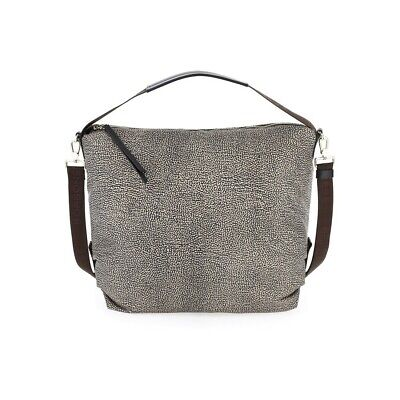 Borsa BORBONESE HOBO MEDIUM Donna CREMA 934772 296 E72