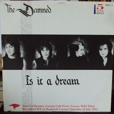 The Damned - Is It A Dream - Grim M.C.A Records.