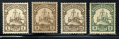 German Colonies  Island South Africa Kaiser Yachts 🛥️Stamps  MVLH  Lot