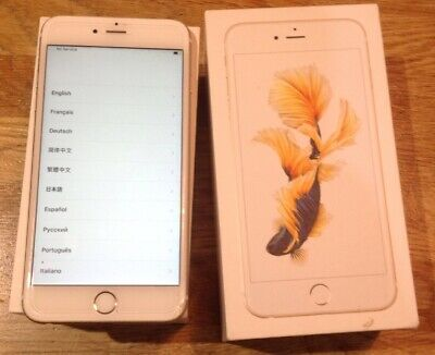 Apple iPhone 6s Plus 64GB GOLD with BOX