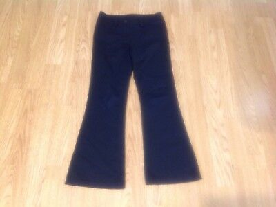 Girls next school trousers used in good condition Navy size 8 years old