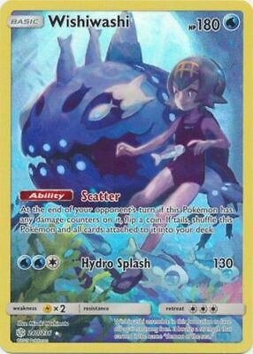 Wishiwashi - 240/236 - Secret Rare, SM Cosmic Eclipse, NM-Mint x1