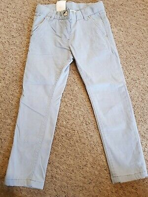 I Do by Mihiconf Girls Blue Brushed Cotton Trousers Age 6 years Worn once
