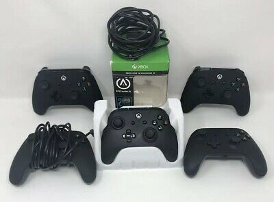 5 PowerA Enhanced Wired Controller for Xbox One - Black