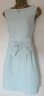 TED BAKER ~Nuhad~ Dress UK 10 2  ~Wedding~ Mint Green ~Bow Detail~ So Beautiful!