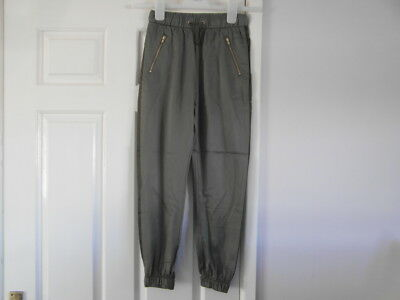 H&M new without tags a size 13-14 years and Khaki in colour trousers