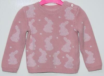 Ex mothercare baby girls clothes knitted two piece set size 6 months New
