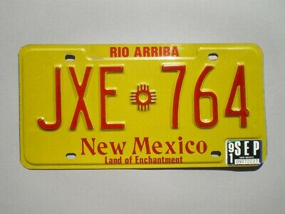 Authentic 1991 New Mexico License Plate