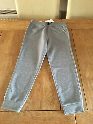 Girls Jogger Bottoms Size S (7-8) By 32 Degrees Grey Tracksuit Sport Casual New