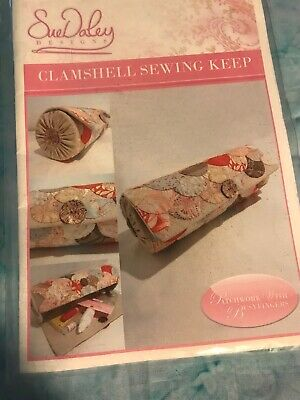 Sue Daley Clamshell Sewing Keep Never Used English Paper Piecing