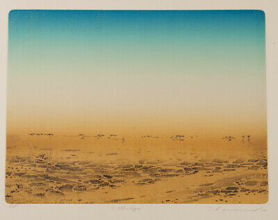 Tim STORRIER Mirage (Lake Eyre & Beyond Suite) - Etching, Acquatint, NGA, Signed