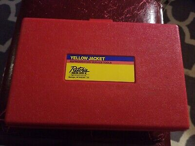Ritchie Yellow Jacket Flaring/Swedging kit...used once...Rothenberger..FREE SHIP