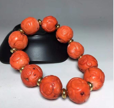 China natural Raw ore agate Natural weathering good luck Bracelets