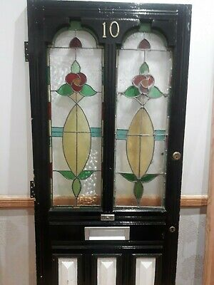 Edwardian Stained Glass Front Door