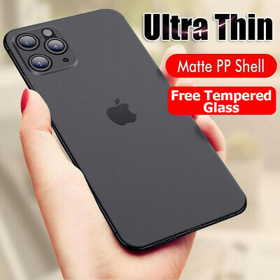 For Apple iPhone XR 7 8 XS 11 Pro Max Ultra Thin 360 Shockproof Phone Case Cover