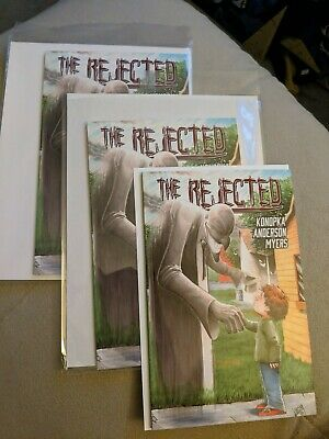 3 x THE REJECTED #1 SOURCE POINT PRESS 1st Print Never Read (3 book lot) NM+