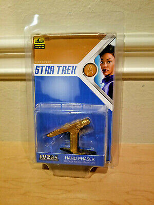 SDCC 2019 Kuzos Excl Star Trek Discovery Starfleet Hand Phaser Gold Variant Prop