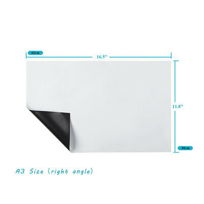 Magnetic Writing Small Board White Writing Board Refrigerator Family Office Memo