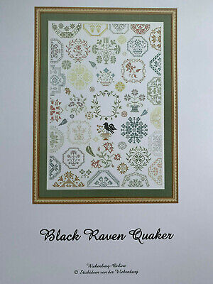 Stickideen von der Wiehenburg - Black Raven Quaker -- Cross Stitch Pattern/Chart